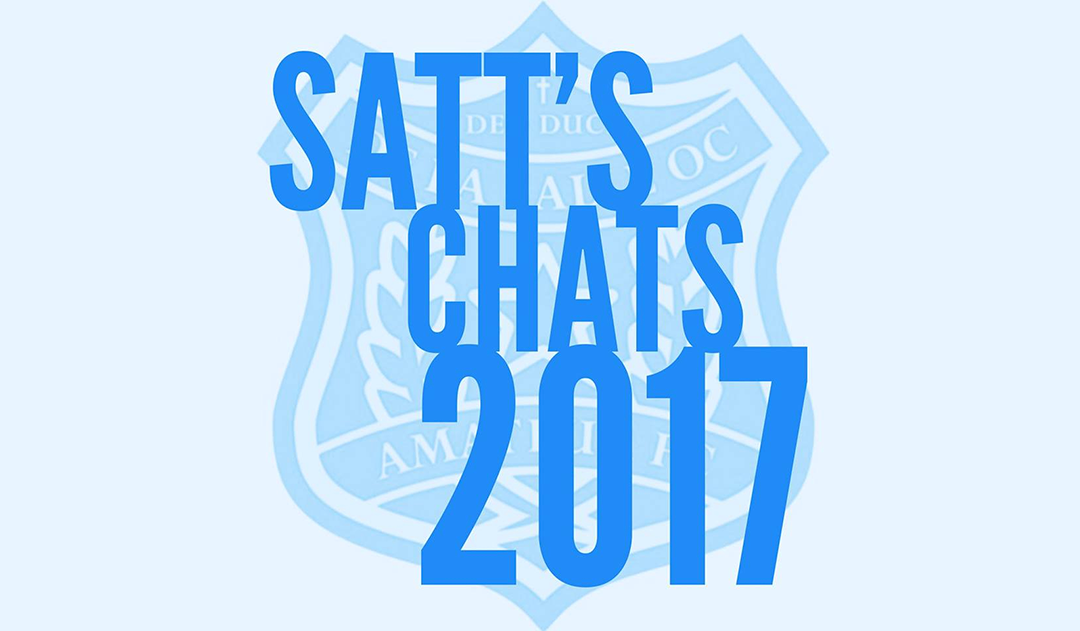 Satt's Chats: Week 17 v Old Melburnians